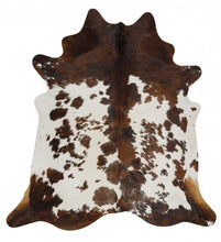 Load image into Gallery viewer, Exquisite Natural Cow Hide Black Tricolor