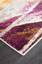 Load image into Gallery viewer, Dimensions Divinity Strokes Violet Modern Runner Rug