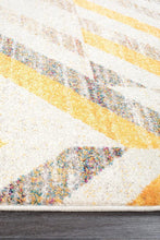 Load image into Gallery viewer, Dimensions Divinity Slant Yellow Modern Rug