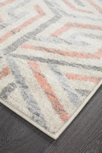 Load image into Gallery viewer, Dimensions Divinity Link Pink Modern Runner Rug