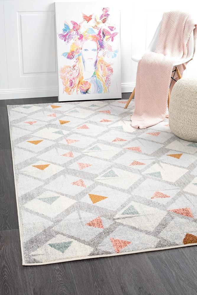 Dimensions Divinity Time Grey Modern Rug