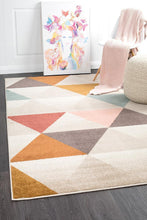 Load image into Gallery viewer, Dimensions Divinity Order Blush Modern Rug