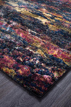 Load image into Gallery viewer, Dreamscape Splash Modern Midnight Runner Rug