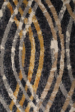 Load image into Gallery viewer, Dreamscape Flurry Modern Charcoal Runner Rug