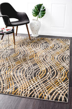 Load image into Gallery viewer, Dreamscape Flurry Modern Charcoal Rug