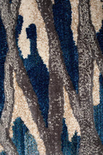 Load image into Gallery viewer, Dreamscape Ropes Modern Blue Runner Rug