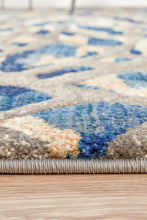Load image into Gallery viewer, Dreamscape Ropes Modern Blue Rug