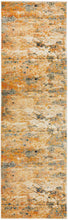 Load image into Gallery viewer, Dreamscape Tribute Modern Rust Runner Rug