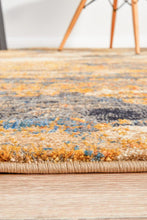 Load image into Gallery viewer, Dreamscape Tribute Modern Rust Rug