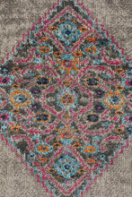 Load image into Gallery viewer, Eternal Whisper Diamond Grey Runner Rug