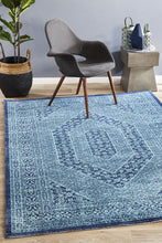 Load image into Gallery viewer, Eternal Whisper Vision Blue Rug