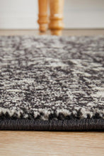 Load image into Gallery viewer, Evoke Estella Charcoal Transitional Runner Rug