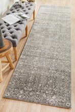 Load image into Gallery viewer, Evoke Pidgeon Grey Transitional Runner Rug