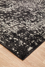 Load image into Gallery viewer, Evoke Scape Charcoal Transitional Rug