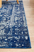 Load image into Gallery viewer, Evoke Contrast Navy Transitional Rug