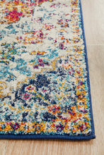 Load image into Gallery viewer, Evoke Carnival White Transitional Runner Rug