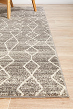Load image into Gallery viewer, Evoke Remy Silver Transitional Rug