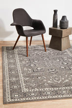 Load image into Gallery viewer, Evoke Stone Grey Transitional Rug