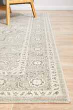 Load image into Gallery viewer, Evoke Silver Flower Transitional Rug