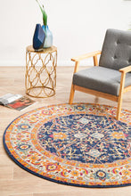 Load image into Gallery viewer, Evoke Splash Multi Transitional Round Rug