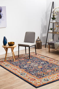 Evoke Splash Multi Transitional Rug