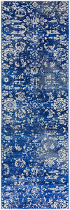 Evoke Donna Navy Transitional Runner Rug