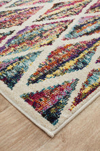 Load image into Gallery viewer, Gemini Modern 502 Multi Coloured Runner Rug