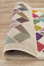 Load image into Gallery viewer, Gemini Modern 508 Multi Coloured Runner Rug
