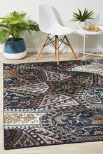 Load image into Gallery viewer, Gemini Tribe Modern 513 Navy Rug