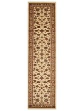 Load image into Gallery viewer, Istanbul Collection Traditional Floral Pattern Ivory Rug