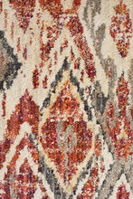Load image into Gallery viewer, Jezebel Fluid Sunset Modern Rust Rug