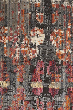 Load image into Gallery viewer, Jezebel Fluid Eve Modern Rust Rug