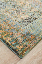 Load image into Gallery viewer, Jezebel Fluid Daylight Modern Blue Rug