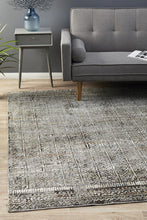 Load image into Gallery viewer, Jezebel Fluid Evening Modern Grey Rug