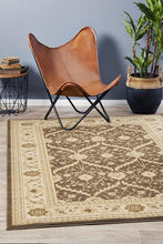 Load image into Gallery viewer, Jewel Chobi Design 800 Brown Bone Rug