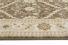 Load image into Gallery viewer, Jewel Chobi Design 800 Brown Bone Runner Rug