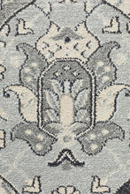 Load image into Gallery viewer, Jewel Panel Design 802 Blue Navy Bone Rug