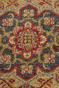 Jewel Antique Heriz Design 803 Multi Rug