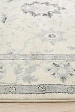 Load image into Gallery viewer, Jewel Nain Design 804 Bone Blue Navy Rug