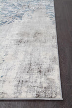 Load image into Gallery viewer, Kendra Casper Distressed Modern Rug Blue Grey White