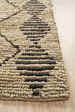 Load image into Gallery viewer, Kenya Kasa Hand Woven Tribal Jute Rug