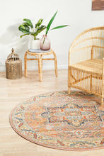 Load image into Gallery viewer, Legacy 850 Salmon Round Rug