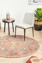 Load image into Gallery viewer, Legacy 856 Crimson Round Rug