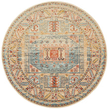 Load image into Gallery viewer, Legacy 859 Sky Blue Round Rug