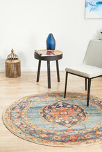 Load image into Gallery viewer, Legacy 862 Rust Round Rug