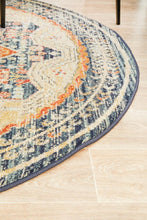 Load image into Gallery viewer, Legacy 863 Navy Round Rug