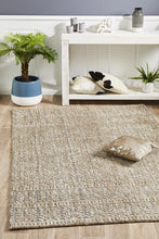 Load image into Gallery viewer, Levi Hannah Natural Grey Rug