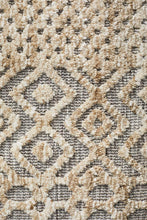 Load image into Gallery viewer, Levi Sylvia Natural Grey Rug