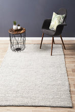 Load image into Gallery viewer, Loft Stunning Wool Black Rug