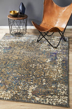 Load image into Gallery viewer, Medina Danica Transitional Rug Blue Grey